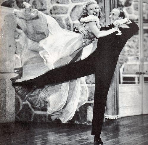 Het leven is de danser en jij bent de dans